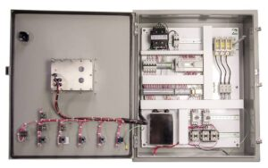 US Systems Industrial-Grade Electrical Control Panel for Automation