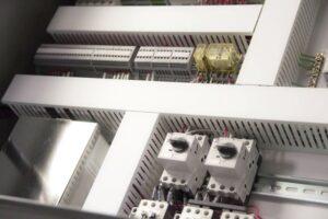 Industrial Control Panel Interior for Bulk Bag Filler