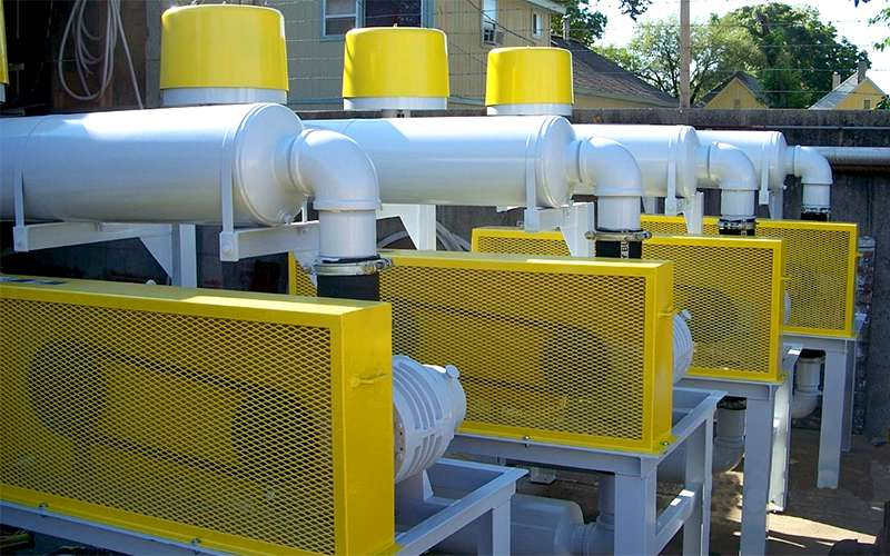 blower packages used in our pneumatic conveyor systems