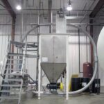US Systems Bin Vent used for In-Plant Transfer of Bulk Bag to Process