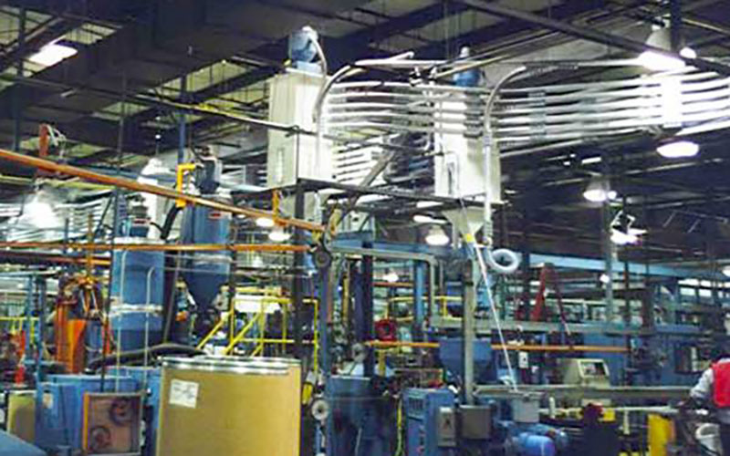 Pneumatic Conveyor for In-Plant Transfer