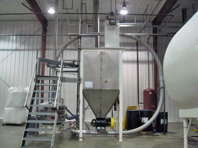 US Systems Use Bin, Airlock & Bin Vent for sugar