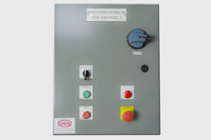 US Systems Control Panel Exterior View