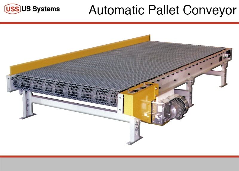 US Systems Pallet Conveyor