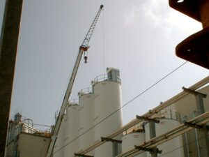 Silo Bin Vent Installation