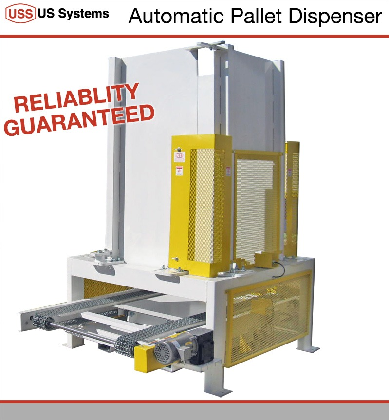 US Systems Automatic Pallet Dispenser