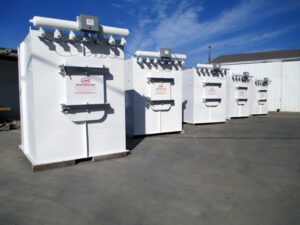 US Systems Bin Vents for Dust Control