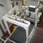US Systems FIBC Big Bag Bagging Station with Pallet Dispenser, Bagger, and Conveyors