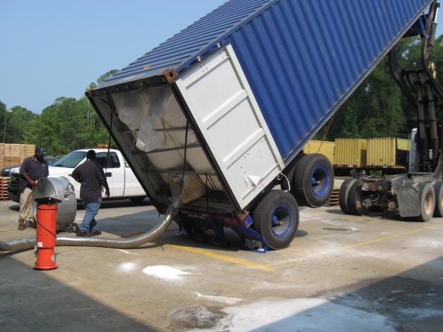 Intermodal Pneumatic Conveying Seabulk Unloading