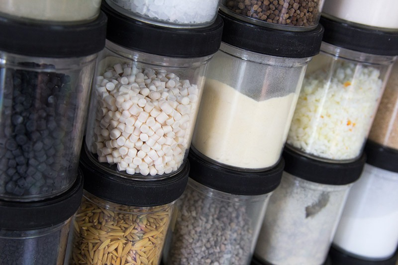 US Systems Dry Bulk Material Sample Jars
