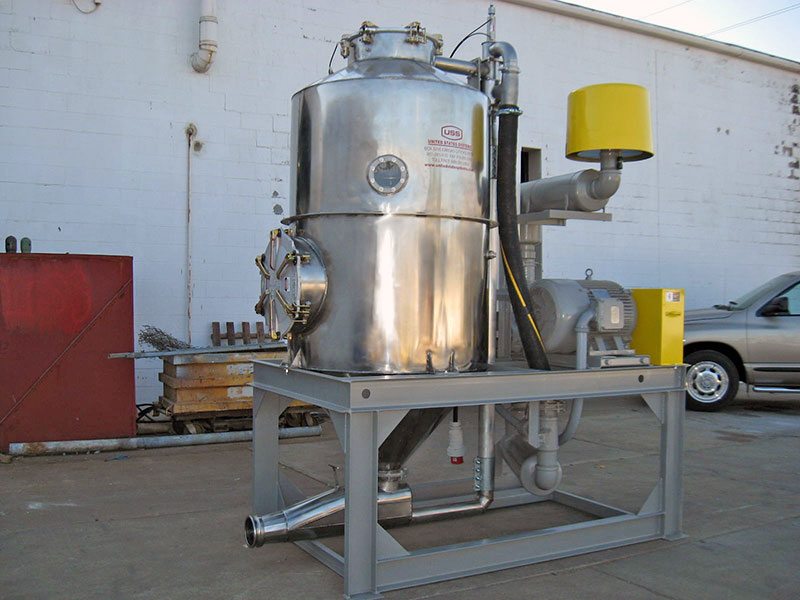US Systems Portable Skid-Mounted Blow Pot and Blower Package