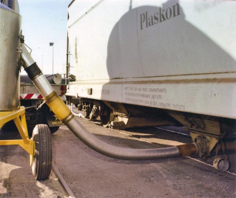 US Systems Urethane Sleeve Railcar Adapter
