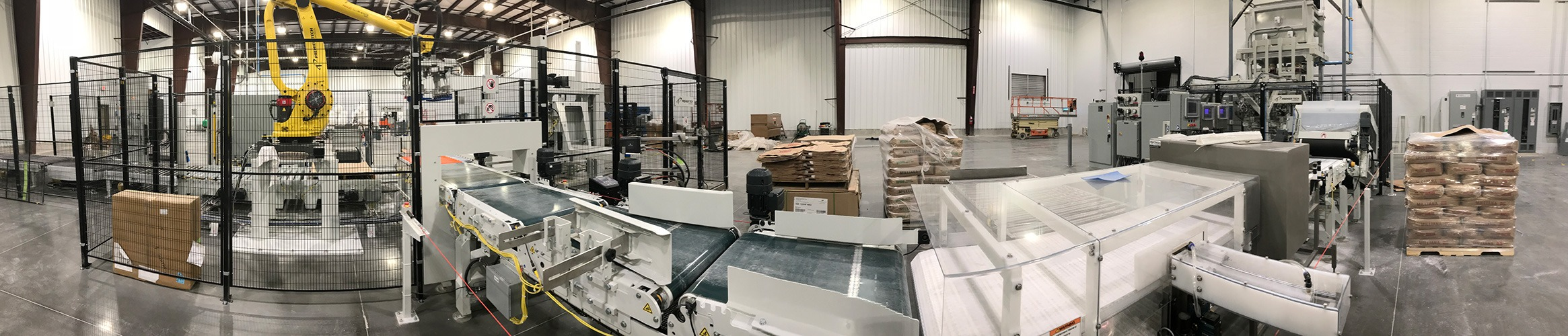 Powdered sugar plant systems integrated with USS Automation.